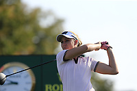 Ryan O'Toole (USA) tees off the 6th tee during Thursday's Round 1 of The Evian Championship 2018, held at the Evian Resort Golf Club, Evian-les-Bains, France. 13th September 2018.<br /> Picture: Eoin Clarke | Golffile<br /> <br /> <br /> All photos usage must carry mandatory copyright credit (© Golffile | Eoin Clarke)