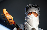 COACHELLA,CA - APRIL18,2009: North African Tuareg rockers 'Tinariwen'  at  Coachella Valley Music and Arts Festival Saturday, April 18, 2009. 147717.CA.0418.coachella
