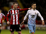 John Fleck of Sheffield United in action during the English League One match at the Bramall Lane Stadium, Sheffield. Picture date: April 5th, 2017. Pic credit should read: Jamie Tyerman/Sportimage