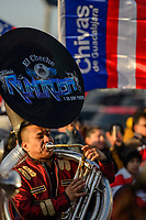 Harrison, NJ - Tuesday April 10, 2018: Band prior to leg two of a  CONCACAF Champions League semi-final match between the New York Red Bulls and C. D. Guadalajara at Red Bull Arena. C. D. Guadalajara defeated the New York Red Bulls 0-0 (1-0 on aggregate).