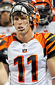 JORDAN SHIPLEY, of the Cincinnati Bengals in action during the Bengals game against the Detroit Lion on August 12, 2011 at Ford Field in Detroit, Michigan. The Lions beat the Bengals 34-3.