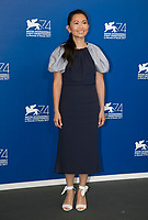 Hong Chau attends the photocall of 'Downsizing' during the 74th Venice Film Festival at Palazzo del Cinema in Venice, Italy, on 30 August 2017. Photo: Hubert Boesl  - NO WIRE SERVICE - Photo: Hubert Boesl/ /MediaPunch ***FOR USA ONLY***