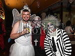 Chris Kearney, Martin and Michael Berrill at the Halloween Ball in the Thatch in aid of Motor Neurone Disease Oncology Dept of Our Lady of Lourdes hospital. Photo:Colin Bell/pressphotos.ie