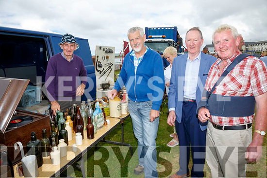 Pictured at the Iveragh Vintage Club's Open Day in Waterville on Sunday with all funds raised going to Iveragh Mental Health were l-r; Richie Grandfield, Gene Young, Michael Coffey & Micky O'Connor.