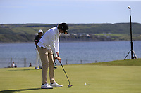 Pedro Figueiredo (POR) putts on the 3rd green during Thursday's Round 1 of the Dubai Duty Free Irish Open 2019, held at Lahinch Golf Club, Lahinch, Ireland. 4th July 2019.<br /> Picture: Eoin Clarke | Golffile<br /> <br /> <br /> All photos usage must carry mandatory copyright credit (© Golffile | Eoin Clarke)