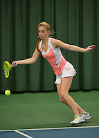 March 13, 2015, Netherlands, Rotterdam, TC Victoria, NOJK, Britt Schreuder (NED)<br /> Photo: Tennisimages/Henk Koster