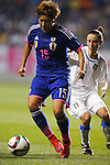 Yuika Sugasawa (JPN), MAY 28, 2015 - Football / Soccer : KIRIN Challenge Cup 2015 match between Japan 1-0 Italy at Minaminagano Sports Park, <br /> Nagano, Japan. (Photo by Yusuke Nakansihi/AFLO SPORT)