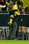06.12.2011, Signal Iduna Park, Dortmund, GER, UEFA Champions League, Gruppe F, Vorrunde, Borussia Dortmund (GER) vs Olympique Marseille (FRA), im Bild Jubel Kuba (#16 Dortmund) und Jürgen/ Juergen Klopp (Trainer Dortmund) nach dem 1-0 // during the football of UEFA Champions League, Pool F, Borussia Dortmund (GER) vs. Olympique Marseille (FRA) at Signal Iduna Park, Dortmund, GER, on 2011/12/06. EXPA Pictures © 2011, PhotoCredit: EXPA/ nph/ Kurth..***** ATTENTION - OUT OF GER, CRO *****