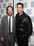Barry Slotnick and David Schwimmer attends the Opening Night After Party for the Lincoln Center Theater Production of 'Junk' on November 2, 2017 at Tavern On The Green in New York City.