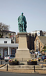 Prince Albert statue, St Peter Port, Guernsey, Channel Islands, UK