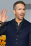 Canadian actor Ryan Reynolds attends the Japan Premiere for his film Deadpool 2 on May 29, 2018, Tokyo, Japan. The second installment of the Marvel hit movie will be released in Japan onJune 1st. (Photo by Rodrigo Reyes Marin/AFLO)