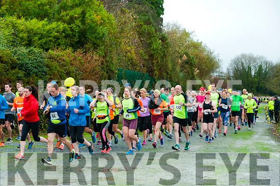 Listowel Half Marathon & 10k: Pictured at the start of the  Listowel half marathon & 10k  organised by the Kerry Crusaders in Listowel on Saturday morning last.