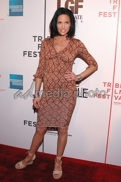"24 April 2005 - New York, New York - Actress Tia Texada arrives at the premiere of the film, ""Fierce People"", part of the Tribeca Film Festival in downtown Manhattan.  Photo Credit: Patti Ouderkirk/AdMedia"