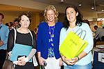 Noreen Barrett, Castleisland , Janelle Griffin, Tarbert , Juanita Lovett, Castleisland  at the Kerry ETB  Education, Training and Opportunities fair  at the Brandon Hotel on Thursday at the Kerry ETB  Education, Training and Opportunities fair  at the Brandon Hotel on Thursday