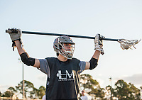 January 14, 2017: Lacrosse Masters Florida Boys Camp at South County Park in Vero Beach, Fl.