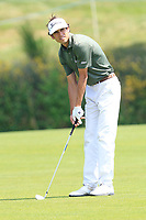 Pedro Oriol (ESP) on the 1st fairway during Round 4 of the HNA Open De France at Le Golf National in Saint-Quentin-En-Yvelines, Paris, France on Sunday 1st July 2018.<br /> Picture:  Thos Caffrey | Golffile