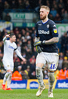 Leeds United's Pontus Jansson wears the goalkeeping jersey in the closing stages<br /> <br /> Photographer Alex Dodd/CameraSport<br /> <br /> The EFL Sky Bet Championship - Leeds United v Sheffield United - Saturday 16th March 2019 - Elland Road - Leeds<br /> <br /> World Copyright © 2019 CameraSport. All rights reserved. 43 Linden Ave. Countesthorpe. Leicester. England. LE8 5PG - Tel: +44 (0) 116 277 4147 - admin@camerasport.com - www.camerasport.com