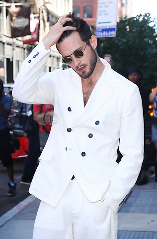 NEW YORK, NY - JUNE 27: Nico Tortorella at AOL Build in New York City on June 27, 2017. Credit: RW/MediaPunch