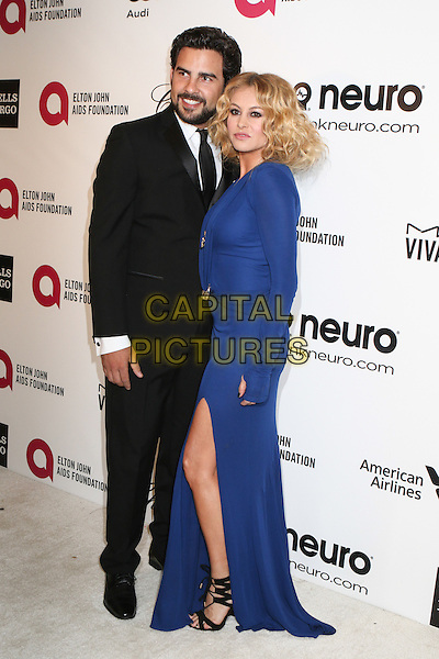 WEST HOLLYWOOD, CA - MARCH 2: guest &amp;  Paulina Rubio attending the 22nd Annual Elton John AIDS Foundation Academy Awards Viewing/After Party in West Hollywood, California on March 2nd, 2014.  <br /> CAP/MPI/mpi99<br /> &copy;mpi99/MediaPunch/Capital Pictures