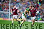 Johnny Buckley Kerry in action against  Galway in the All Ireland Senior Football Quarter Final at Croke Park on Sunday.