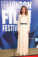 Gloria Huwiler at the 2017 BFI London Film Festival Awards at Banqueting House, London, UK. <br /> 14 October  2017<br /> Picture: Steve Vas/Featureflash/SilverHub 0208 004 5359 sales@silverhubmedia.com