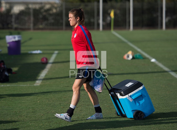 Baton Rouge, LA - October 15, 2017: The USWNT trains in preparation for their friendly against Korea in New Orleans.
