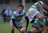 Action from the Waikato colts club rugby match between Marist and Matamata at Marist Park in Hamilton, New Zealand on Saturday, 8 June 2019. Photo: Dave Lintott / lintottphoto.co.nz