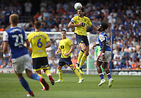 Blackburn Rovers' Charlie Mulgrew in action during todays match<br /> <br /> Photographer Rachel Holborn/CameraSport<br /> <br /> The EFL Sky Bet Championship - Ipswich Town v Blackburn Rovers - Saturday 4th August 2018 - Portman Road - Ipswich<br /> <br /> World Copyright &copy; 2018 CameraSport. All rights reserved. 43 Linden Ave. Countesthorpe. Leicester. England. LE8 5PG - Tel: +44 (0) 116 277 4147 - admin@camerasport.com - www.camerasport.com