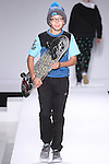 Model walks runway in an outfit from the  Nike SB collection, during the Kids Rock fashion show presented by Haddad Brands, during Mercedes-Benz Fashion Week Fall 2015.