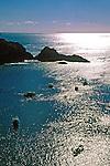 Baía do Sancho no Arquipélago de Fernando de Noronha. Foto de Juca Martins.