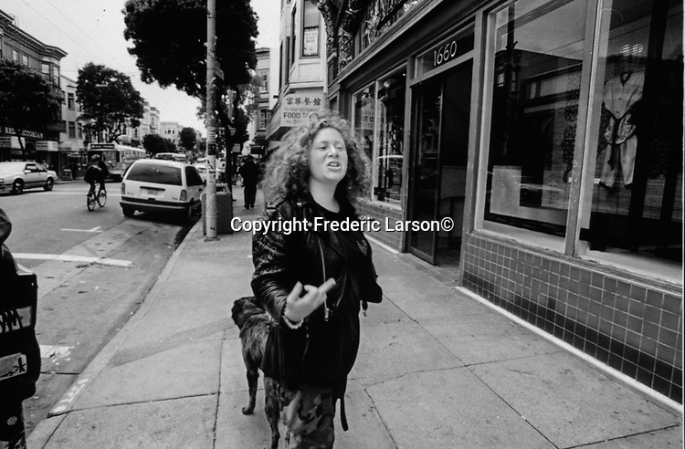 A series of photographs depicting the story of teenage our ways who are homeless living and migrating to the iconic corner of Haight & Ashbury in San Francisco California.