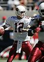 Josh McCown during the Cardinals v. Saints football game on October 3, 2004.Cardinals win 34-10..Dilip Vishwanat / SportPics
