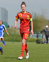 U 15 Belgian Red Flames - Virginia USA :<br /> <br /> Gwen Duijsters<br /> <br /> foto Dirk Vuylsteke / Nikonpro.be