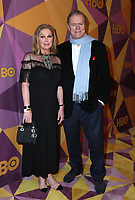 BEVERLY HILLS, CA - JANUARY 7: Kathy Hilton, Rick Hilton at the HBO Golden Globes After Party at the Beverly Hilton in Beverly Hills, California on January 7, 2018. <br /> CAP/MPI/FS<br /> &copy;FS/MPI/Capital Pictures