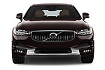 Car photography straight front view of a 2018 Volvo V90 Corss Country Pro 5 Door Wagon
