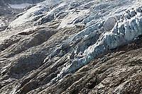 Glacier du Trient, above Trient, Switzerland.