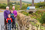The Foilmore/Kells IRD deputation who are looking for road re-alignment at the Viaduct Bridge and road over the road at Mountain Stage pictured here front  l-r; John & Mikey Kavanagh, back l-r; Pat Kavanagh & John Golden.