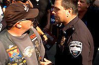 Protesting the SB1611 at the State Capitol in Phoenix, AZ Tuesday, February 22, 2011..Photo by AJ Alexander