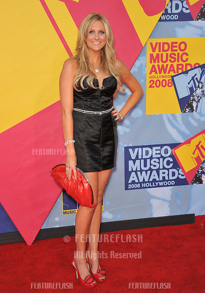 Stephanie Pratt at the 2008 MTV Video Music Awards at Paramount Studios, Hollywood. .September 7, 2008  Los Angeles, CA..Picture: Paul Smith / Featureflash