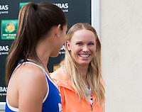 CAROLINE WOZNIACKI (DEN)<br /> <br /> Tennis - BNP PARIBAS OPEN 2015 - ATP 1000 - WTA Premier -  Indian Wells Tennis Garden - Indian Wells - California - United States of America  - 9 March 2015. <br /> &copy; AMN IMAGES