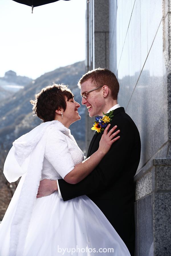 JSW 1711 Anderson Wedding 646<br /> <br /> JSW 1711 Anderson Wedding<br /> <br /> Derek and Becky Anderson - Draper Temple<br /> <br /> December 28, 2017<br /> <br /> Jaren Wilkey/BYU<br /> <br /> &copy; BYU PHOTO 2017<br /> All Rights Reserved<br /> photo@byu.edu  (801)422-7322