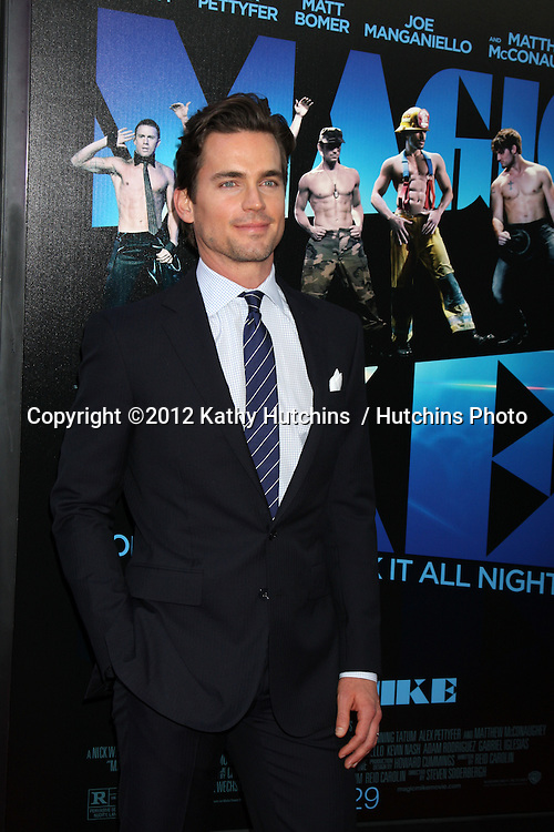"LOS ANGELES - JUN 24:  Matt Bomer arrives at the ""Magic Mike"" LAFF Premiere at Regal Cinema at LA Live on June 24, 2012 in Los Angeles, CA"