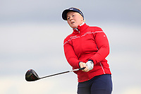 Puk Lyng Thomsen (DEN) on the 8th tee during Round 3 Matchplay of the Women's Amateur Championship at Royal County Down Golf Club in Newcastle Co. Down on Friday 14th June 2019.<br /> Picture:  Thos Caffrey / www.golffile.ie