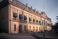 The Palacio de Gobierno of Government Palace in the city of San Luis Potosi, Mexico