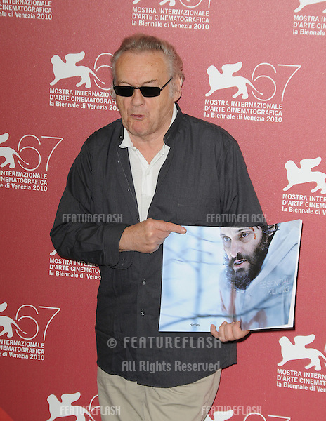 Jerzy Skolimowski at the Essential Killing photocall during the 67th annual Venice Film Festival..September 6, 2010  Venice, IT.Picture: Anne-Marie Michel / Featureflash