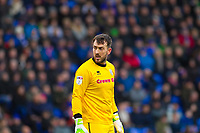 Rochdale's Josh Lillis during the Sky Bet League 1 match between Oldham Athletic and Rochdale at Boundary Park, Oldham, England on 18 November 2017. Photo by Juel Miah/PRiME Media Images