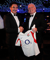Photo: Richard Lane/Richard Lane Photography. Matt Hampson Foundation Post Rugby World Cup Dinner at the Battersea Evolution, London. 09/11/2011.
