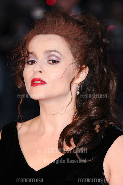 Helena Bonham Carter at the BFI London Film Festival premiere of &quot;Suffragette&quot; at the Odeon Leicester Square, London.<br /> October 7, 2015  London, UK<br /> Picture: Steve Vas / Featureflash