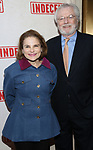 Tovah Feldshuh and Andrew Harris Levy attend the Broadway Opening Night Performance of  'Indecent' at The Cort Theatre on April 18, 2017 in New York City.