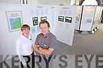 As part of Heritage Week Ardfert Cathedral had an exhibition on Holy Wells in the North Kerry area. Pictured were Majella Starrett and Donal Stack (Head Guide).